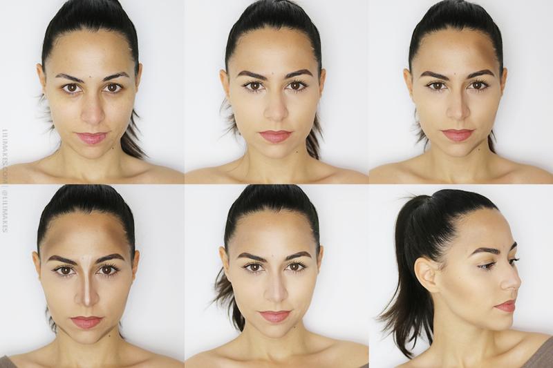 como fazer contorno no rosto