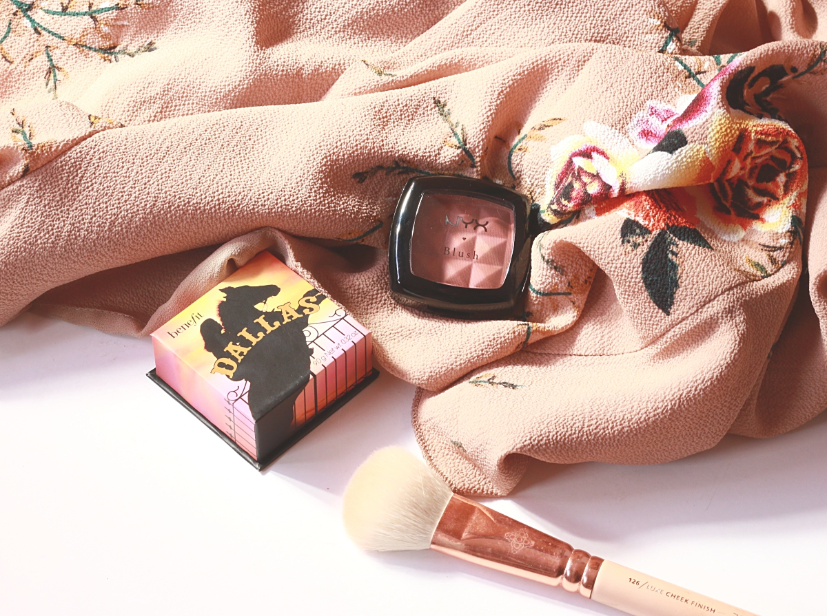 benefit dallas, nyx espresso, blush outono, compras fapex, haul notino