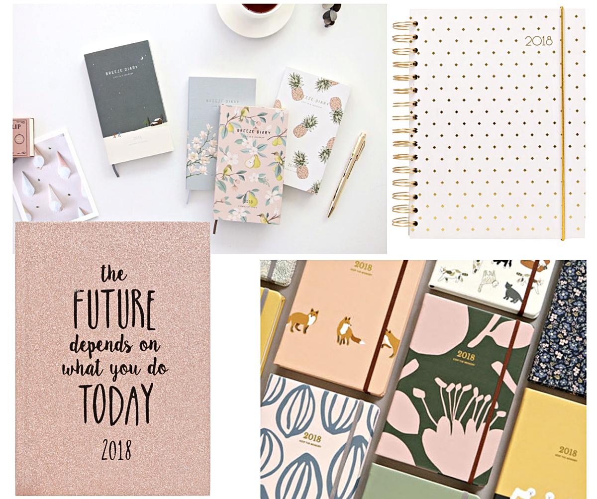 agenda 2018, planner 2018, journal 2018, organizer 2018