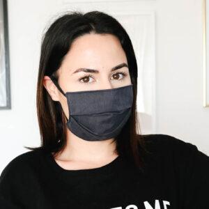 maquilhagem com máscara
